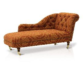 The Antique chaise lounge